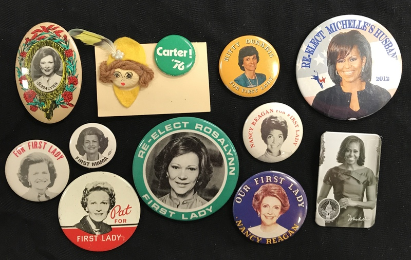 First Lady Campaign Button Collection 2