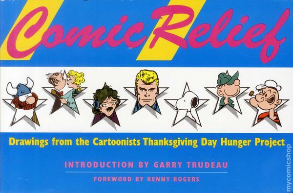 Cover of <em>Comic Relief: Drawings from the Cartoonists Thanksgiving Day Hunger Project</em>