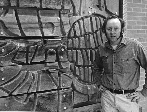Donald Drumm and Psychology Mural