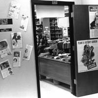 Entrance to the Browne Popular Culture Library