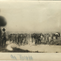 Company H, 2nd Infantry, Ohio National Guard, at Fort Meigs military encampment