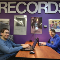 Studying at the Music Library and Sound Recordings Archives