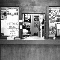 Music Library and Sound Recordings Archives reference desk