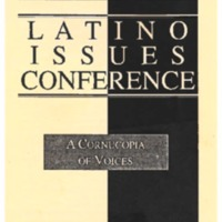 The Sixth Annual Latino Issues Conference Program