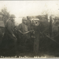 """""""Thiaucourt Sector, Nov. 11 1918"""""""