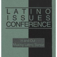 The 10th Annual Latino Issues Conference Program