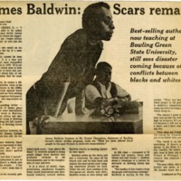"""James Baldwin: Scars Remain"""