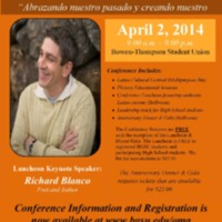 The 20th Annual Latino Issues Conference Poster
