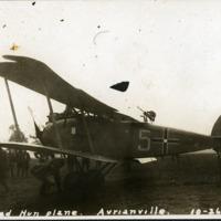 """Captured Hun plane, Avrianville, 10-26-18"""