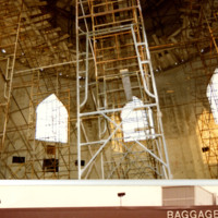 Construction inside the Islamic Center of Greater Toledo