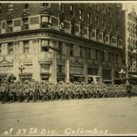 """Parade of 37th Div. Columbus"""