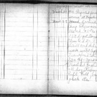Ferris Wellman Myrice diary