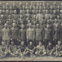 """Co. E, 37th Engineers, Ft. Myer, VA. May 1918"""
