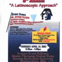 Latino Issues Conference 9th Annual Poster
