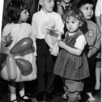Children at Islamic holiday event, Toledo, Ohio