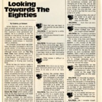 """James Baldwin: Looking Towards the Eighties"""