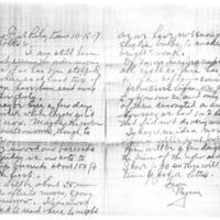 Myron Hanna letters