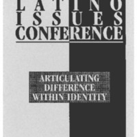 The Fifth Annual Latino Issues Conference Program Booklet
