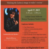 The 19th Annual Latino Issues Conference Poster