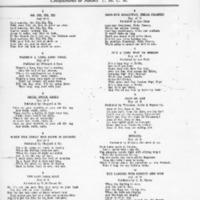 Camp Sherman Song Sheet
