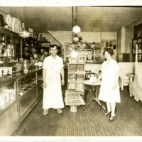 O.B. Olive at his place of business in Toledo, Ohio