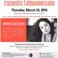 2016 Latino Issues Conferences 22nd Annual Poster