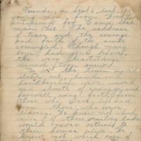 Henry Ellsworth account of life at Camp Sherman, Ohio