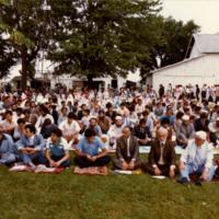 Eid celebration at Islamic Center of Greater Toledo site