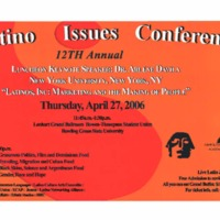 Latino Issues Conference 12th Annual Poster