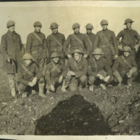 135th Field Artillery troops on the Western Front, 1918