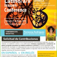 2018 Latino/a/x Issues Conference Call for Contributions