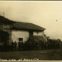 """Mess line at Neuville"""