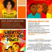 2018 Latino/a/x Issues Conference 23rd Annual Poster