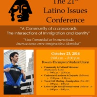 The 21st Latino Issues Conference Poster