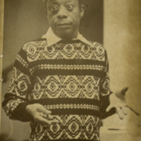 James Baldwin lecturing at Bowling Green State University