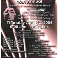 Latino Issues Conference 10th Annual Poster