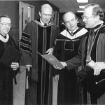 Charles Perry at Commencement