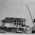 Jerome Library construction