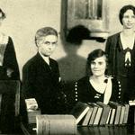 BGSU library staff, 1932
