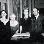 BGSU library staff, 1943