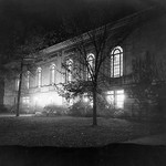 Old Library at night