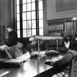 Studying in Old Library