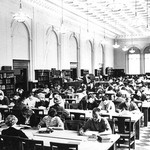 Studying in the Old Library