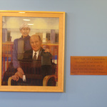 Robert and Ellen (Bowen) Thompson Portrait