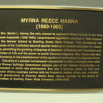 Hanna Hall Plaque