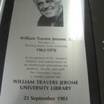 William Travers Jerome III plaque