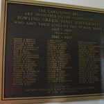 Carillonic Bells Dedication Plaque