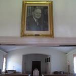Prout Portrait inside Chapel