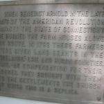 Firelands plaque