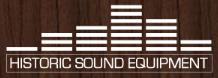 Historic Sound Equipment